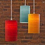 Cách làm đèn ống nhà treo tường từ giấy bìa carton