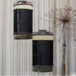 Hướng dẫn làm đèn treo đơn giản từ mành tre