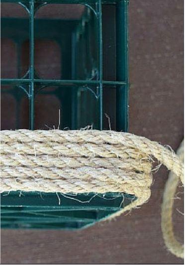 cách làm ghế ngồi từ dây thừng