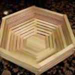 Hướng dẫn làm giỏ đựng đồ handmade bằng que kem gỗ
