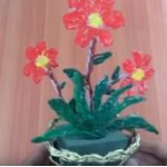 Hướng dẫn làm giỏ hoa đơn giản từ keo nến