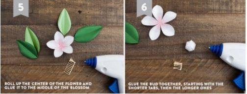 cách làm hoa bằng giấy handmade
