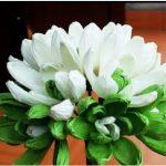 Hướng dẫn làm hoa mộc lan đơn giản từ giấy nhún