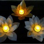 Hướng dẫn làm đế hoa để nến đơn giản từ nhựa