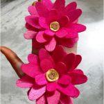 Hướng dẫn làm hoa sen bằng que kem gỗ
