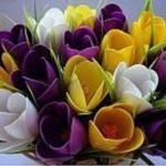 Hướng dẫn làm hoa Tulip đơn giản bằng thìa nhựa