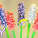 Hướng dẫn làm hoa xoắn đơn giản từ giấy màu