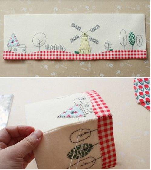 cách làm hộp đựng khăn giấy