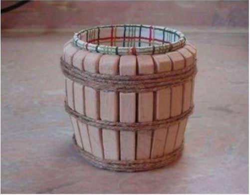 cách làm hộp đựng bằng keo gỗ