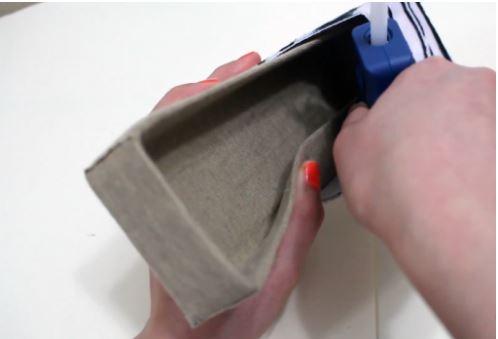 cách làm hộp đựng trang sức từ giấy