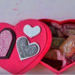 Hướng dẫn cách làm hộp quà hình trái tim nắp rời