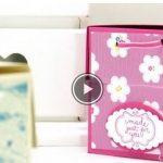 Hướng dẫn làm hộp quà giấy hình tủ đựng