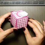 Hướng dẫn làm hộp quà hình lập phương từ giấy