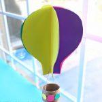 Hướng dẫn làm khinh khí cầu đơn giản bằng giấy