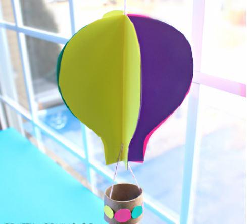 cách làm khinh khí cầu