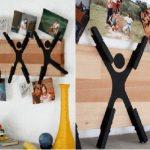 Cách sáng tạo từ việc chế khung ảnh bằng kẹp gỗ
