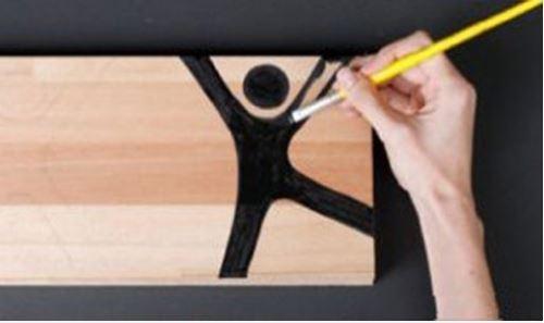 cách làm khung ảnh bằng kẹp gỗ