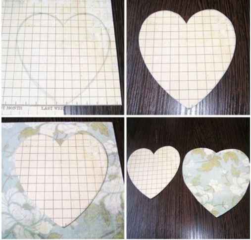 cách làm khung hình trái tim