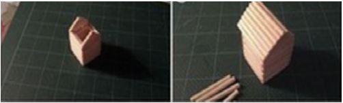 cách làm móc khóa tăm tre