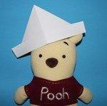 cách làm mũ cho chú gấu