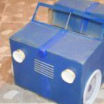 Hướng dẫn làm ô tô mini từ bìa carton đơn giản