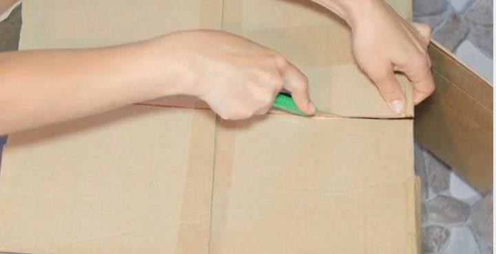 cách làm ô tô từ bìa carton