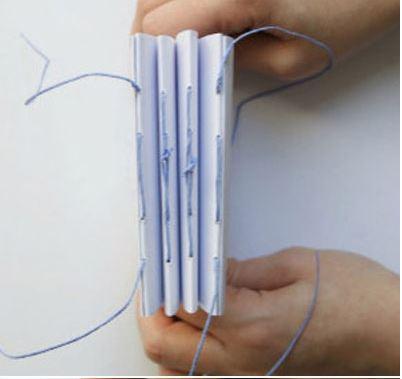 cách làm quyển sổ bằng que kem