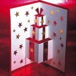 Hướng dẫn làm thiệp Noel 3D đơn giản từ giấy