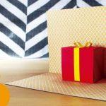 Hướng dẫn làm thiệp sinh nhật 3D có hộp quà bên trong