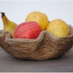 Hướng dẫn làm tô đựng hoa quả từ dây thừng