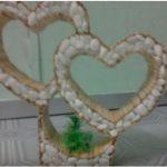 Hướng dẫn làm hình trái tim đôi tuyệt đẹp từ tăm tre