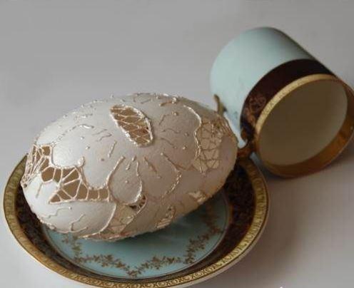 cách trang trí quả trứng