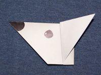 gấp con chuột giấy