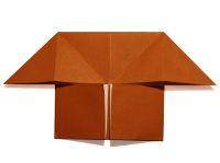 gấp hình ngôi nhà giấy