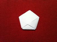 gấp hình ngôi sao giấy