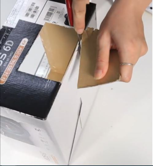 làm bàn bóng bi lắc bằng giấy