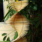 Hướng dẫn làm dây treo trang trí nhà bằng tăm tre