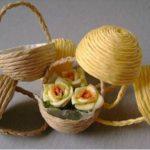 Hướng dẫn làm giỏ mini để bàn đơn giản từ dây thừng