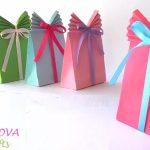 Hướng dẫn làm hộp quà tặng bằng giấy thắt nơ