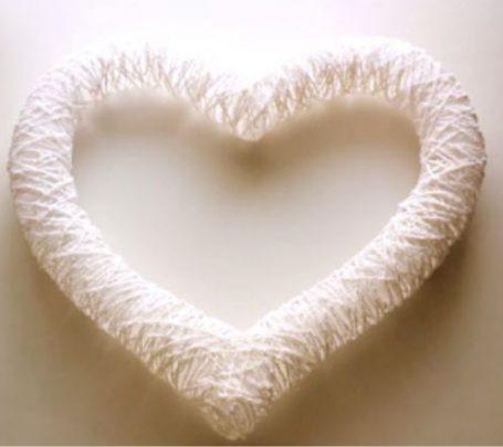 cách làm trái tim bằng dây dù