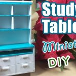 Dollhouse | Hướng dẫn làm bàn học siêu đơn giản
