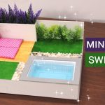 Dollhouse | Hướng dẫn làm bể bơi đơn giản từ bìa cứng