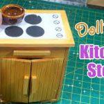 Dollhouse   Cách làm làm bếp đồ chơi mini