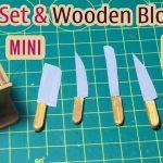 Hướng dẫn làm bộ dụng cụ dao và hộp đựng dao cho nhà bếp