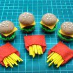 Doll Mini   Hướng dẫn làm hamburger và khoai chiên