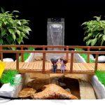 Hướng dẫn làm cầu dưới đài phun nước siêu đơn giản