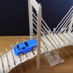 Hướng dẫn làm cây cầu cực đẹp từ que kem gỗ