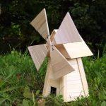 Hướng dẫn cách làm cối xay gió từ que kem gỗ