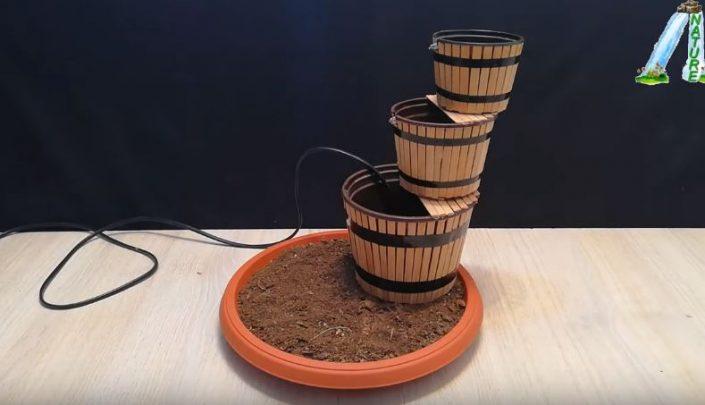 cách làm đài phun nước 3 tầng
