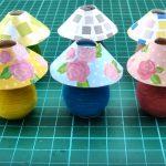 Dollhouse | Hướng dẫn cách làm đèn để bàn đơn giản